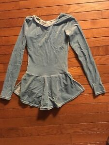 Mondor Power Blue Ice Skating outfit XL Girls 12-14