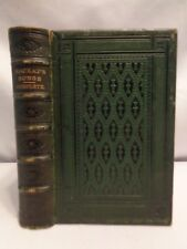 1859 RARE Charles Mackay Collected Songs Leather w Gilt Embossed Edges