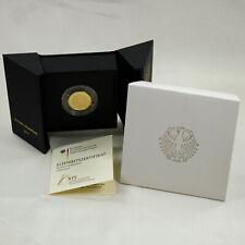 50 Euro 1/4 OZ Unze 7,78 g 999,9 Gold Münze Deutschland BRD Lutherrose 2017 A