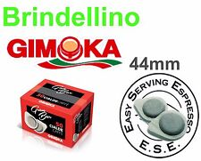 200 Cialde CAFFE carta ESE 44mm GIMOKA GRAN BAR ROSSA BIALETTI TRIO FROG DIDIESS