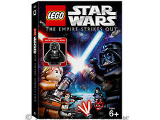 LEGO Star Wars The Empire Strikes Out DVD Plus Darth Vader With Medal Minifigure