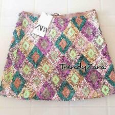 03f38f8f1 Faldas de mujer multicolor Zara | Compra online en eBay