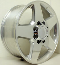 "2001-2010 GMC Sierra Denali 2500 3500 Polished 20"" 8 Lug 8x6.5 Wheels Rims Lugs"