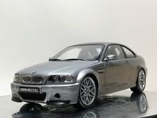 1:18 BMW M3 CSL E46 Coupé techo Negro Carbono año 2003 Color Gris Kyosho
