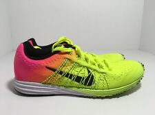 Nike LunarSpider R6 Volt Pink Black Japan Racing Shoes 806553-999 Men's Size 4.5