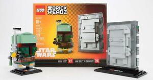 Lego BrickHeadz Boba Fett 27 And Han Solo in Carbonite 28 NYCC 2017