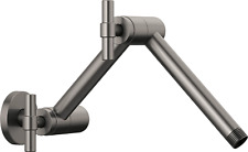 Brizo RP81434PC Litze Jointed Shower Arm and Flange Luxe Steel