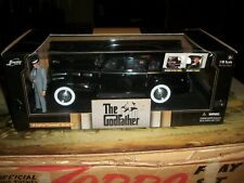 JADA GODFATHER Limited Edition DIE CAST CAR 1/18th SCALE with FIGURES