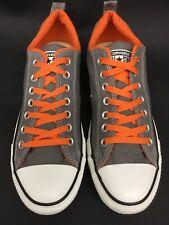 a0f3a3a6b92b26 Converse 140085F Unisex CTAS Ox Dual Collar Gray Orange Sneaker M9 W11 US   CV6