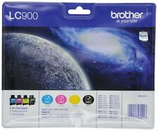 Brother LC-900 Original Ink Cartridges Value Pack (Compatible With Different