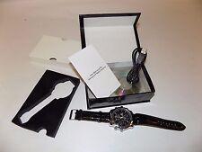 NIB Sharper Image HD Camcorder Spy Watch - Black Spying Gear Camera James Bond