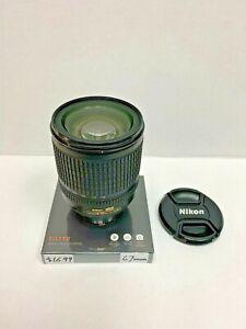 Nikon AFS DX 18-135mm f3.5-5.6G ED w/ free new 67mm filter