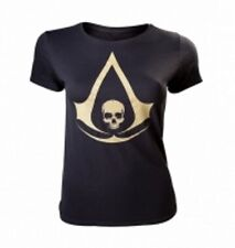 ASSASSIN'S CREED T-Shirt Ladies Gold Skull - Taglia M - OFFICIAL MERCHANDISE