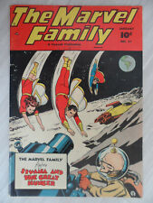 The Marvel Family #31 Dr. Sivana 7.0 (FN/VF) Fawcett Publications. 1949 SHAZAM!!