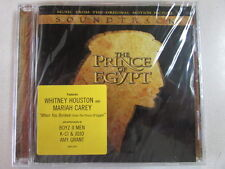 THE PRINCE OF EGYPT SOUNDTRACK CD WHITNEY HOUSTON MARIAH CAREY BOYZ II MEN - NEW
