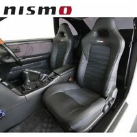 NISMO Seat Cover Set For SKYLINE GT-R BCNR33 PVC Leather/Ultra Suede 87900-RNR30