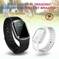 Ultrasonic Anti Mosquito Insect Pest Bug Repellent Repeller Wrist Band Bracelet