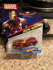 Hot Wheels 2017 Character Cars Spider-Man Homecoming IRON MAN FHN02