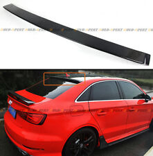 FOR 2014-18 AUDI A3 S3 RS3 SEDAN VIP CARBON FIBER REAR ROOF WINDOW SPOILER WING