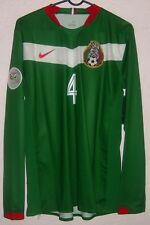 ede2aa5a6b9 NWT Mexico Nike World Cup 2006 Rafael Marquez Player Issue Home Soccer  Jersey