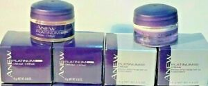NEW ANEW PLATINUM  NIGHT CREAMS TRAVEL SIZE .5 oz.**4 PACK: 2 Day and 2 night**
