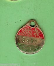 SOUTH SYDNEY JUNIOR  RUGBY LEAGUE  CLUB MEMBER BADGE 1985 #9997  ASSOCIATE