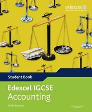 Edexcel International GCSE Accounting Student Book with ActiveBook CD New Paperb