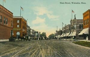 WABASHA MN - Main Street