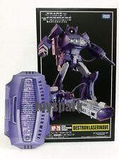 takara tomy Transformers Masterpiece MP-29 SHOCKWAVE G1 Laserwave figure + COIN