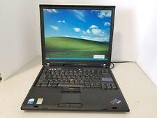 Lenovo IBM R60 laptop Intel C2D T2500 2.0GHz 1GB RAM 100GB HDD Windows XP ID.