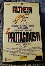 I PROTAGONISTI  The player  VHS ORIGINALE (1992)  REGIA Robert Altman