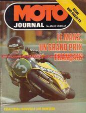 MOTO JOURNAL  424 GUZZI 850 T3 MONTESA Cota 349 SWM GP de France MANS ISDT 1979