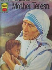 MOTHER TERESA history comic book from India Gaurav Gatha in English 1981 VG-F