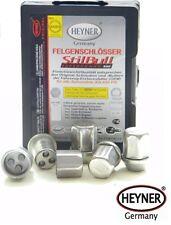 PORSCHE 911 1987-1998 Heyner WHEEL LOCKING NUTS OEM M14x1,5 ALLOYS
