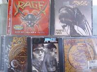 Rage- 5 CDs- lesen