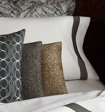 "Sferra NISSA Decorative Pillow 16 x 22"" BLACK Made in ITALY - NEW!"