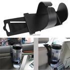 Black Universal Vehicle Car Truck Door Mount Drink Bottle Cup Holder Stand w@