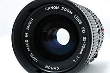 Canon NEW FD 35-70mm F4 Lens SN356737