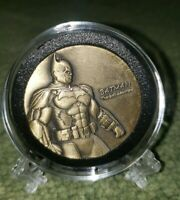 BATMAN & JOKER 39MM BRONZE 3D COIN IN CAPSULE & STAND! BRAND NEW!