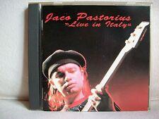 Jaco Pastorius - Live in Italy (bootleg) - Jimco Records 1991