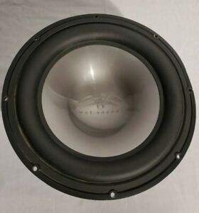 "Wet Sounds REVO 12 HP S4-B Black High Power 12"" Sub, No Grille, small cut"