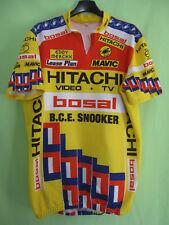 Maillot cycliste Hitachi Bosal BCE Snooker Tour 1988 Castelli Jersey - 7 / XXXL