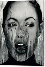 Motiv Angelia Jolie 100x75 2 cm PopArt/Malerei/Abstrakt/Leinwand/Druck/XXL