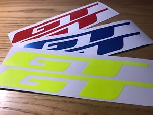 GT Bikes BIKE Sticker Decal Logo cut vinyl MTB DH Car Camper Van MOTO X UK