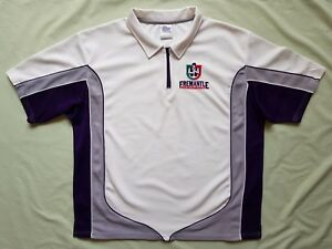 Official AFL Fremantle Dockers Polo Shirt Size XXL