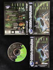 Sega Saturn Alien Trilogy OVP