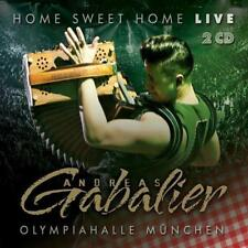 ANDREAS GABALIER Home Sweet Home Live Aus Der Olympiahalle München  2 CD NEU