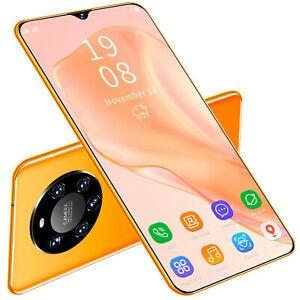 "New 2021 Cheap 6.3"" Mate40 Pro Android 8.1 Unlocked 4 Core Smart Phone Dual SIM"