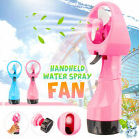 Portable Hand Held Cooler Mini USB Cable Water Spray Misting Fan Travel  Q i