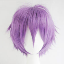 Colors Short Straight Hair Wig Full Wigs Cap Hairpiece Cosplay Party Head Acces